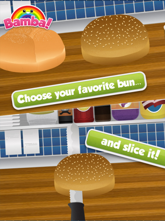 Bamba Burger - ipad