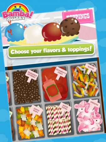 Bamba Ice Cream - ipad