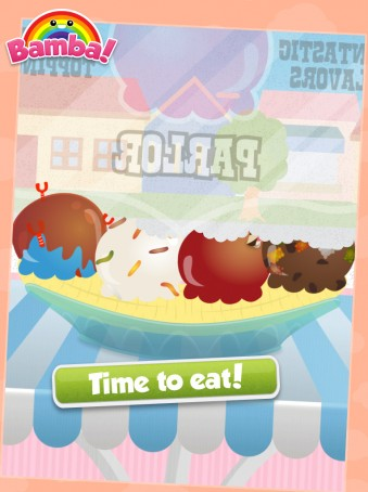 Bamba Ice Cream - ipad