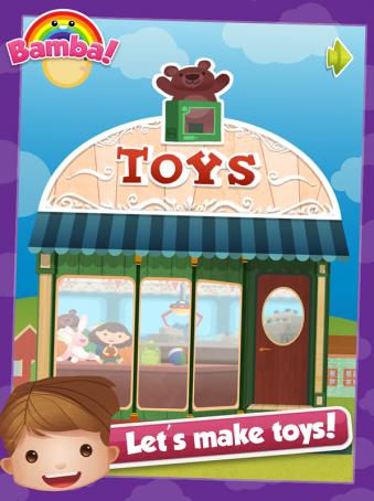 Bamba Toys - ipad2