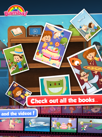 Bamba Books - ipad