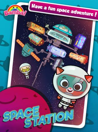 Bamba Space Station - ipad2