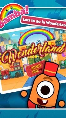 Bamba Wonderland - iphone