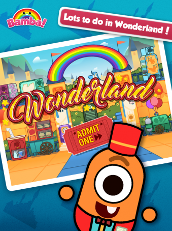 Bamba Wonderland - ipad2