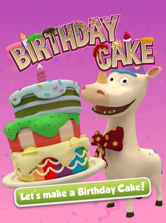 Bamba Birthday Cake - ipad